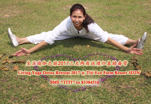 Living Yoga Detox Retreat 2017