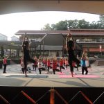Fun in Fitness – Yoga in Neighborhood @West Mall 2016
