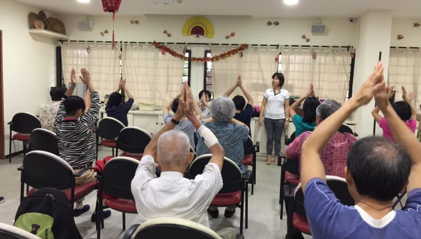 Community Care for Alzheimer's Disease Association Singapore 2017 (English Group)